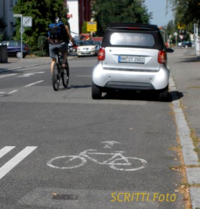 Heilbronn Radweg Gartenstraße