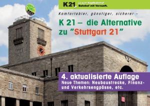 Broschüre Kopfbahnhof 21, die Alternative