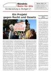 S21 Sonderzeitung taz Bahn für Alle