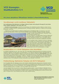 VCD-Konzepte: Stadtbahn mit 30-Minutentakt