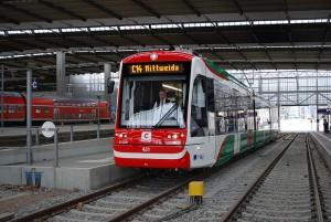 Diesel/Elektro Citylink Chemnitz Hbf
