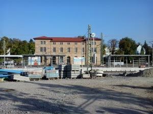 Bhf Neckarsulm mit Stadtbahnbereich