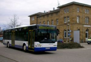 Neckarsulm Bhf Bus 625
