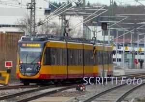 Stadtbahn S41 in Neckarsulm
