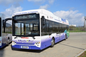 Hohenlohe Elektrobus zur LaGa