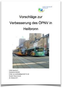 ÖPNV-Konzept der LA21 Heilbronn