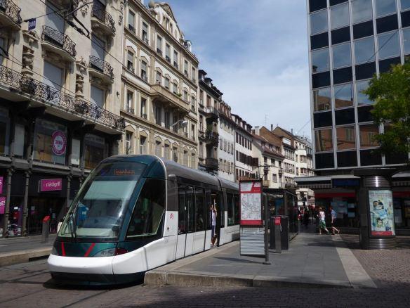 Straßburg-Tram-Innenstadt