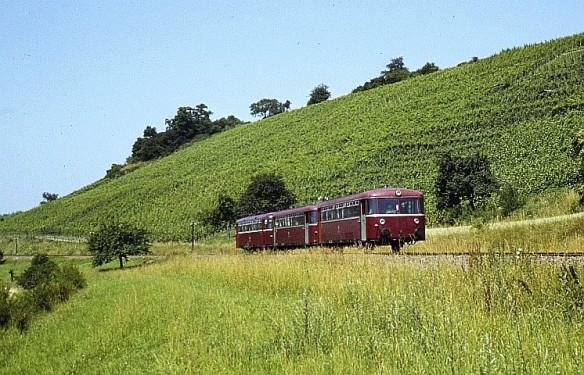 Zabergäubahn-Schienenbus